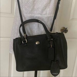 Coach saffiano leather bag